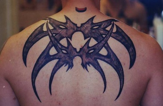 Amazing tribal tattoo