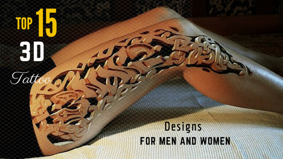 Top 15 3d Tattoo Designs For Men And Women Amazing Tattoo Ideas