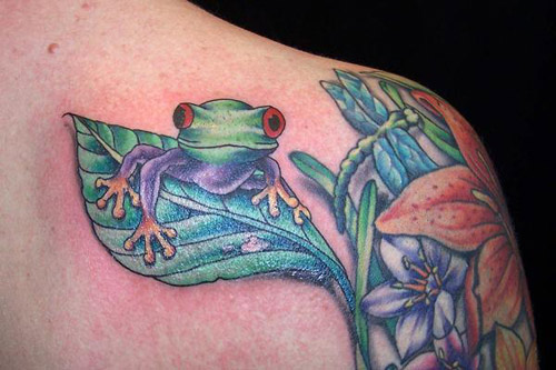 Top 20 Frog Tattoo Designs For Girls Amazing Tattoo Ideas
