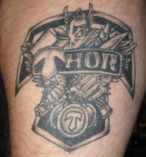 Thor tattoo design amazing tattoo ideas for Top 10 tattoo shops in nyc