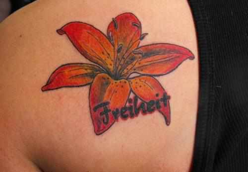 50 Lily Flower Tattoos For Girls Part 1 Amazing Tattoo Ideas