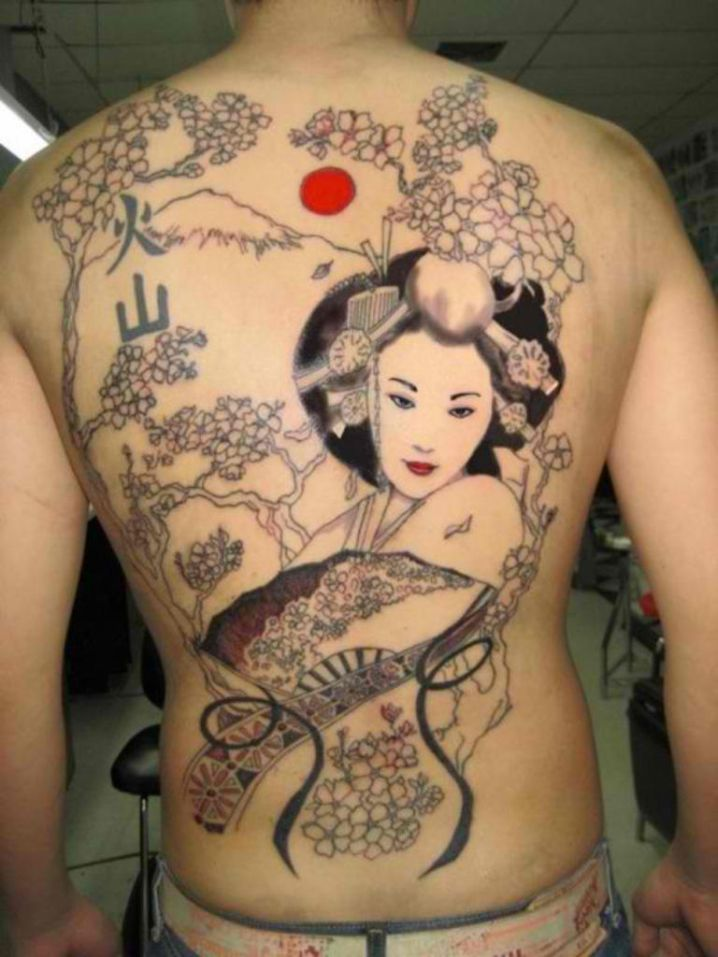 Japanese inspired tattoo