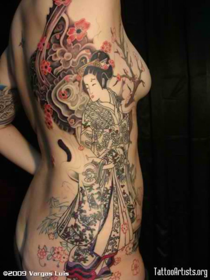 beautiful long tattoos