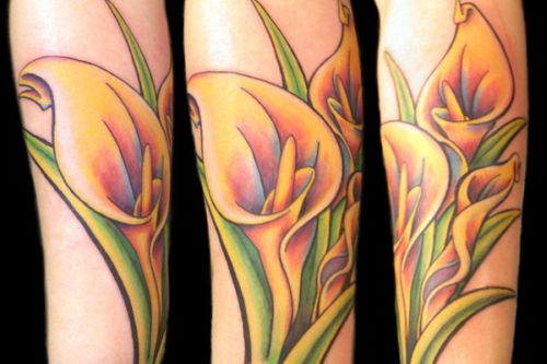 50 Lily Flower Tattoos For Girls Part 2 Amazing Tattoo Ideas
