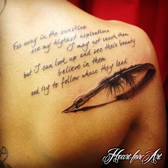 tattoo with significant meaning