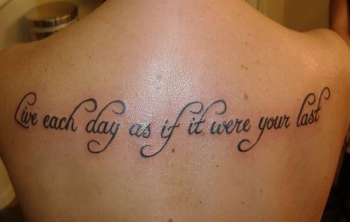 Tattoo Quote Ideas