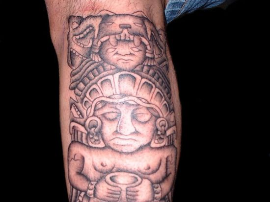 Aztec Designs Tattoos