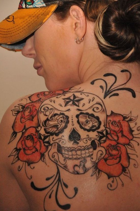 51 Ultimate Sugar Skull Tattoos Amazing Tattoo Ideas
