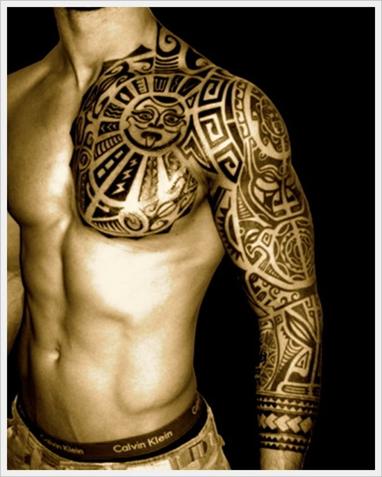 Arm Tribal Tattoos ideas