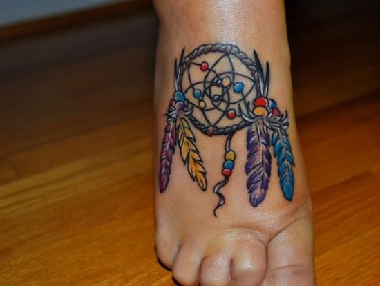 Dream catcher tattoos