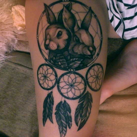 Dream catcher tattoos ideas