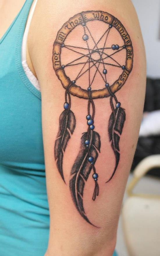 Dreamcatcher tattoos ideas