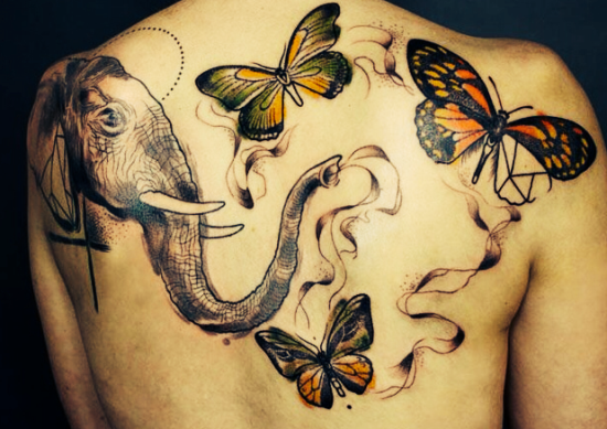 Elephant tattoo ideas
