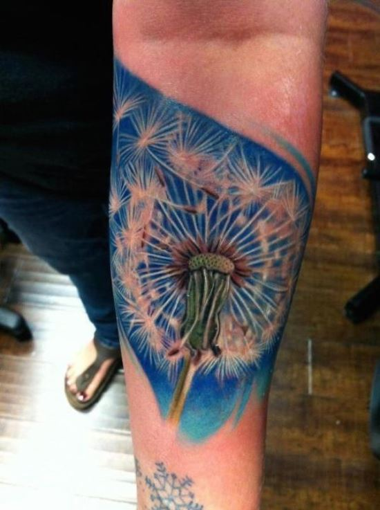 Dandelion tattoo ideas
