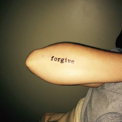 30 Inspirational One Word Tattoos