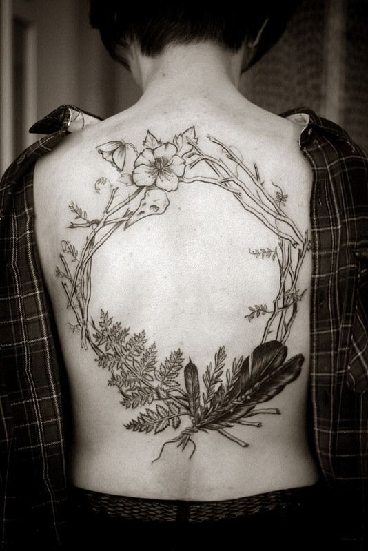 45 Relaxing Nature Tattoo Ideas
