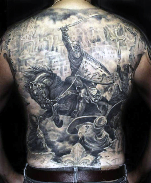 Battle Back Tattoo