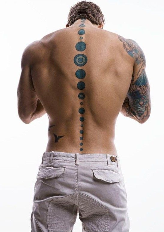 Circles Back Tattoo