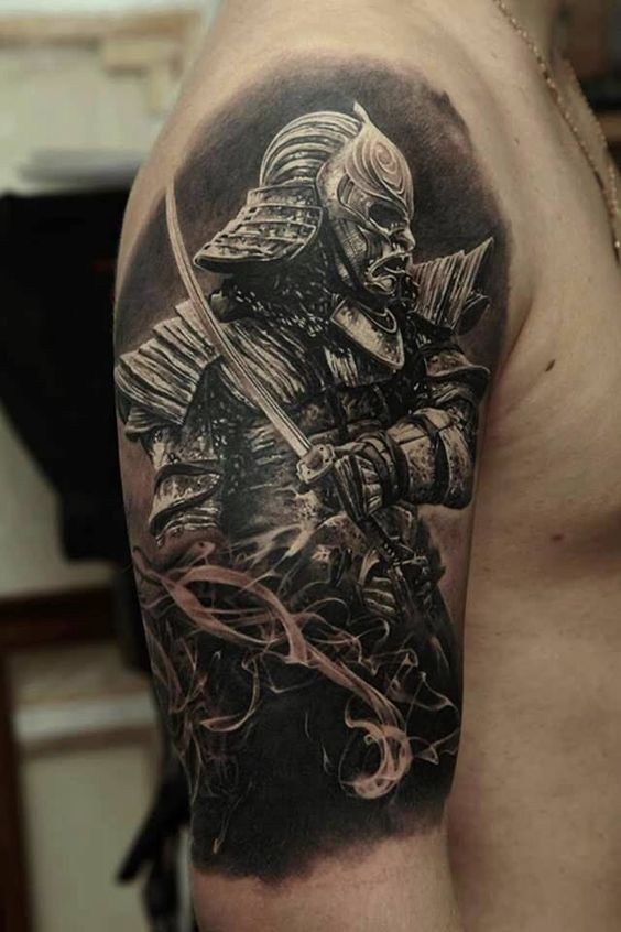 Samurai Arm Tattoo