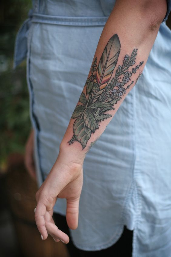 45 Adorable Outer Forearm Tattoos Amazing Tattoo Ideas