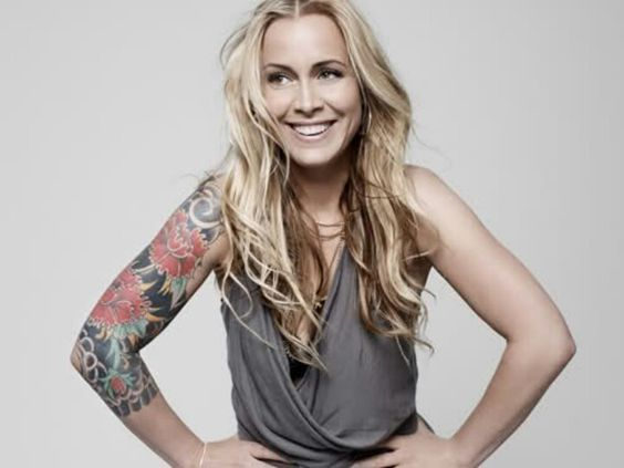 Anouk Sleeve Tattoo