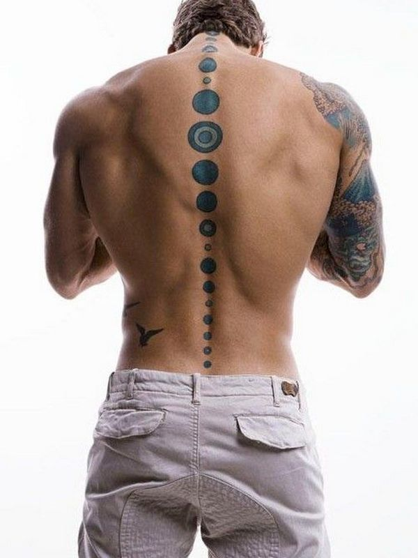 30 Incredible Spine Tattoos For Men Amazing Tattoo Ideas