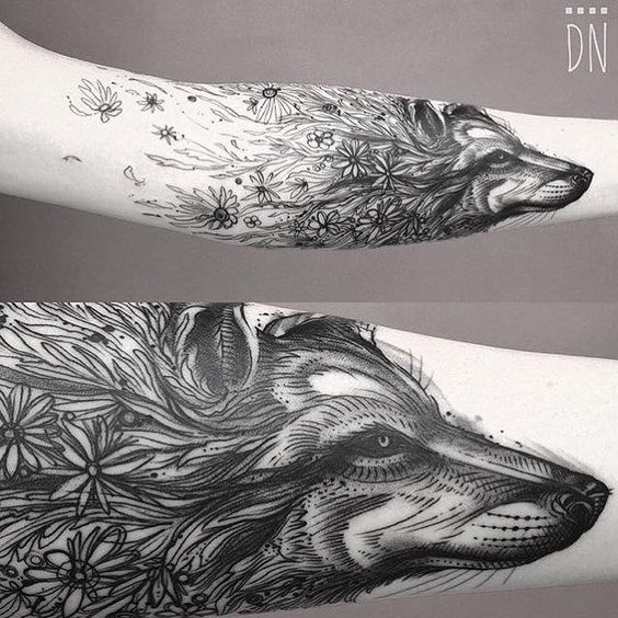 40 daunting wolf tattoo designs amazing tattoo ideas for Top 10 tattoo shops in nyc