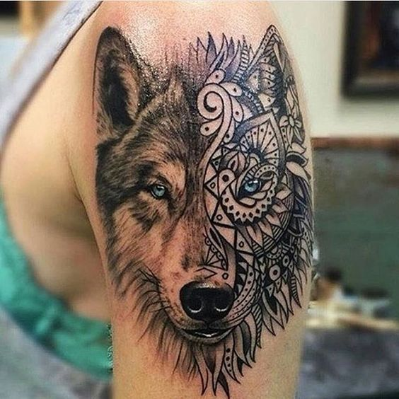 40 Daunting Wolf Tattoo Designs Amazing Tattoo Ideas