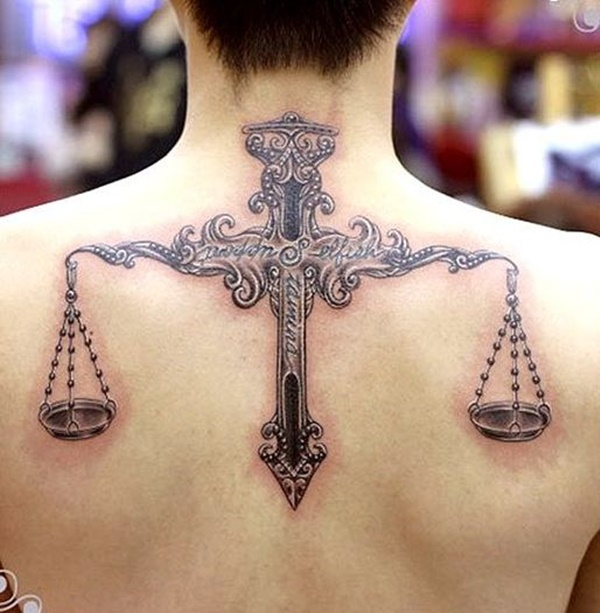 30 enthralling libra scale tattoo designs amazing tattoo for Top 10 tattoo shops in nyc