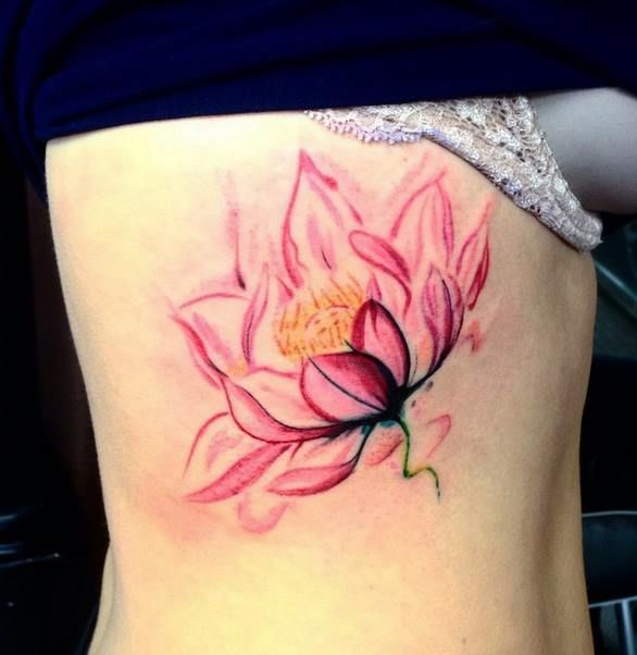 33 watercolor lotus designs amazing ideas