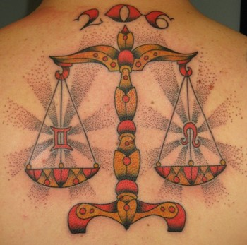 30 enthralling libra scale tattoo designs amazing tattoo ideas. Black Bedroom Furniture Sets. Home Design Ideas