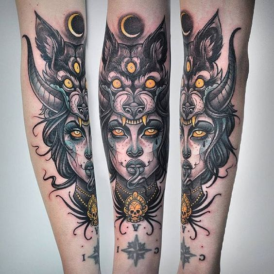 981522882 30 Creative Headdress Tattoo | Amazing Tattoo Ideas