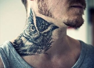 Watchful Owl Tattoo