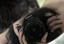 Photographer Arm Tattoo