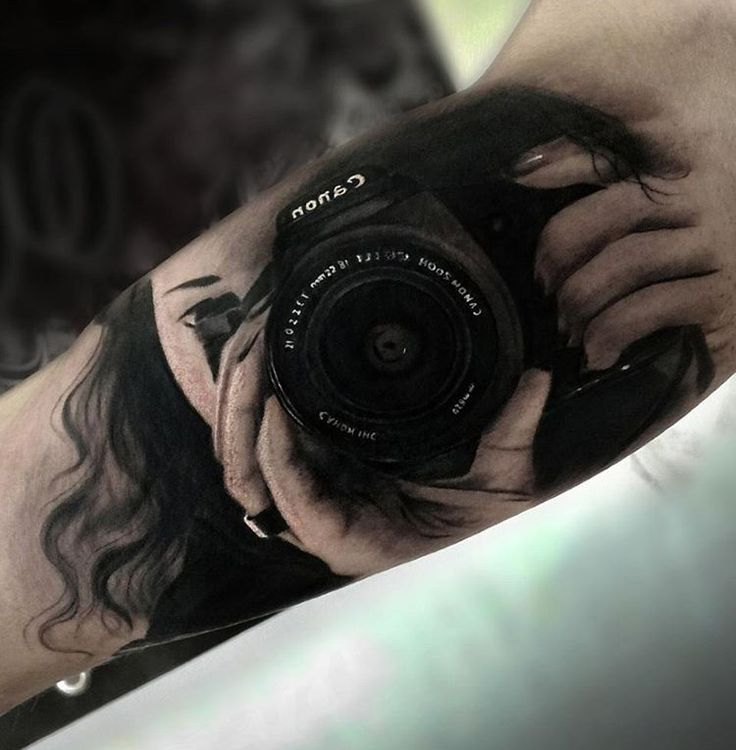 40 Photography Tattoos For Camera Aficionado