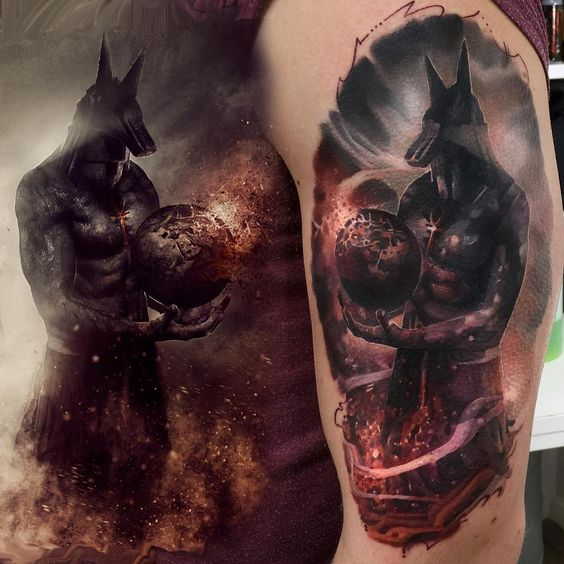 30 venerable anubis tattoos amazing tattoo ideas for Top 10 tattoo shops in nyc