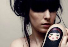 Matreshka Doll Upper Arm Tattoo