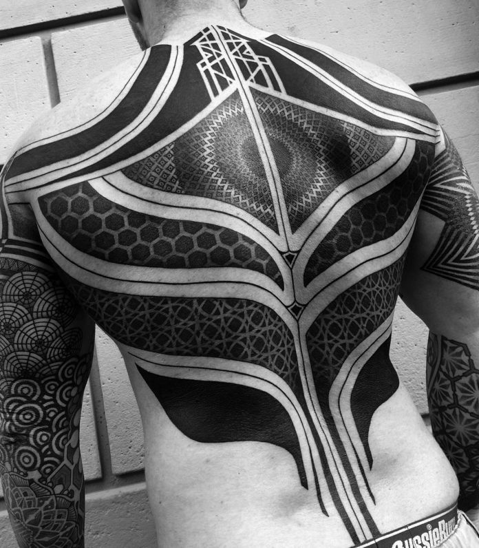 Spanning Geometry Tattoo