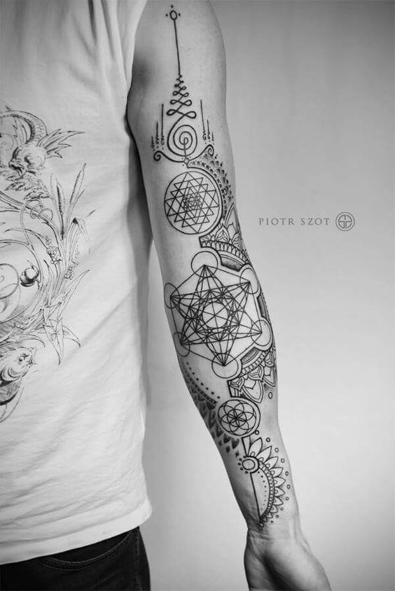 Spiritual Geometry Tattoo