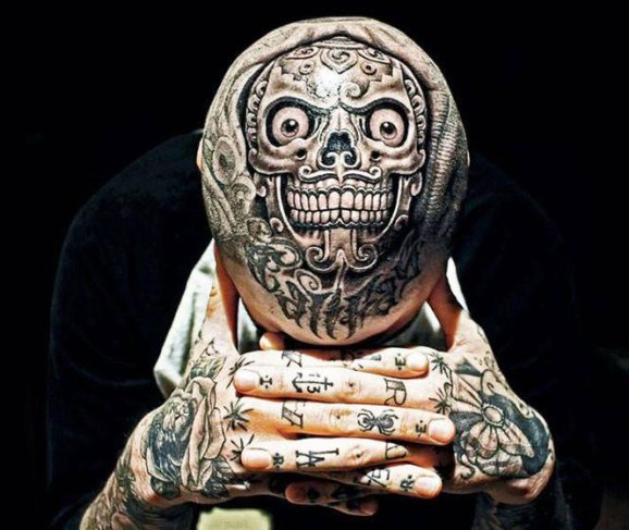 Skull Head Tattoo