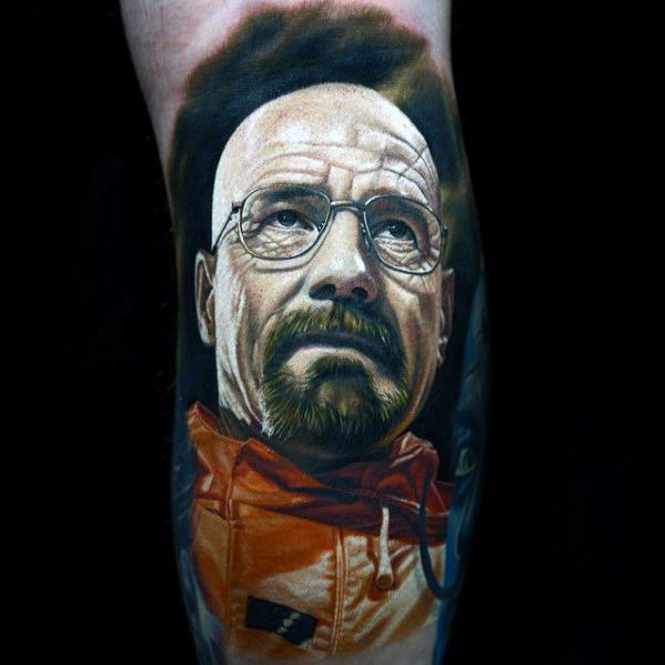 3D Walter Tattoo