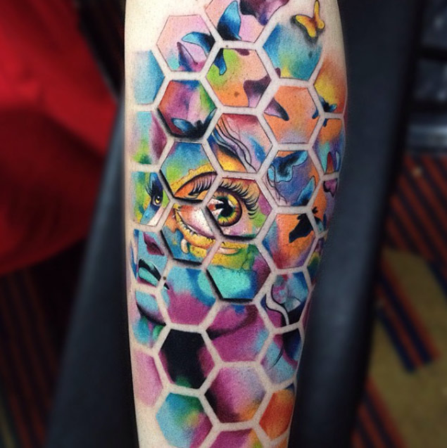 Honeycomb Segmented Tattoo