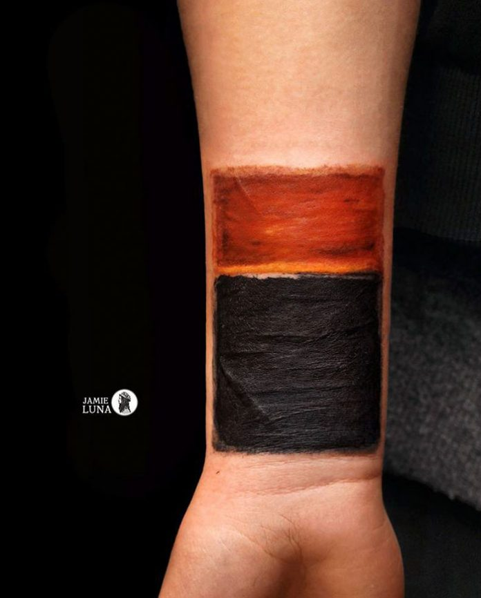 Mark Rothko's Forearm Tattoo