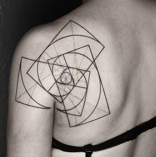 30 Impeccable Golden Ratio Tattoos | Amazing Tattoo Ideas