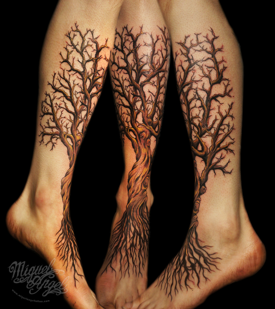 30 Creative Tree Roots Tattoo Designs | Amazing Tattoo Ideas