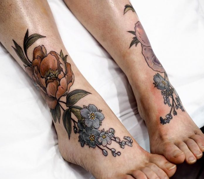 Foot Tattoos: 45 Noteworthy Foot Tattoos
