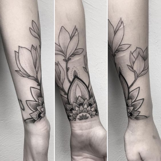 Image Result For Gorgeous Geometric Flower Tattoos Amazing Tattoo Ideas
