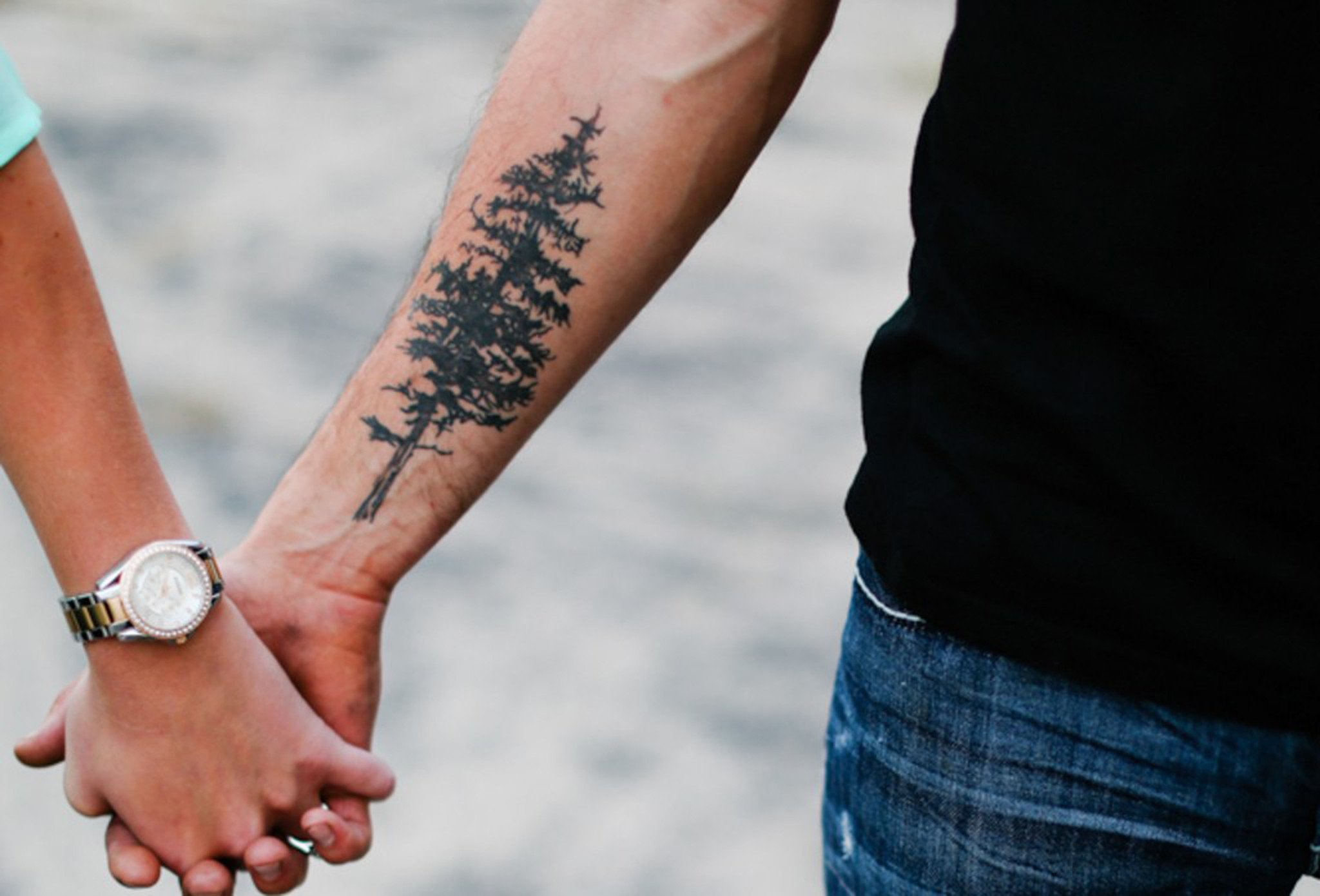 Pine Tree Forearm Tattoo Meaning Tattoo Design