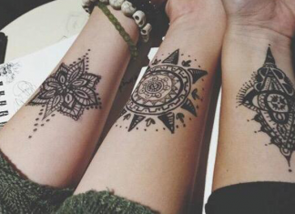 Bohemian Friendship Tattoos