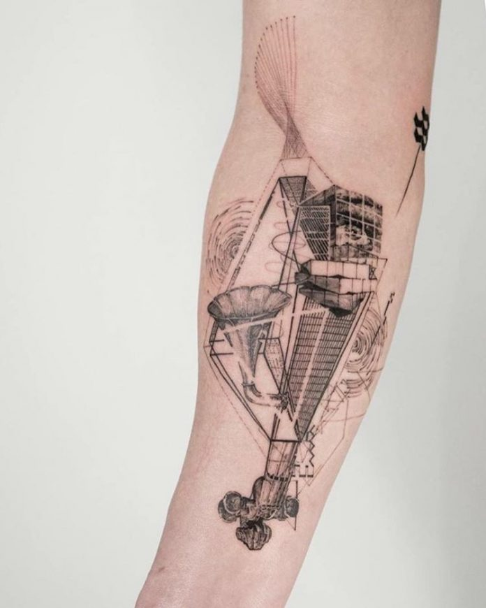 Sonic Inventory Forearm Tattoo